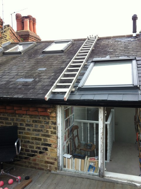 Installation Of Second Floor Rear Roof Terrace