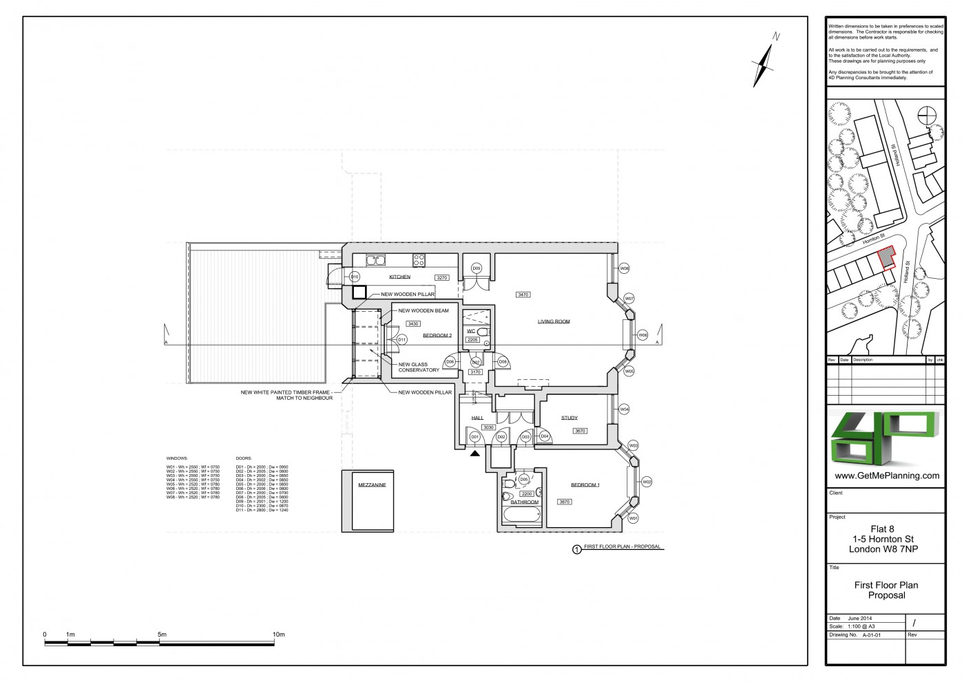 development application 1-5 wentworth street glrbe