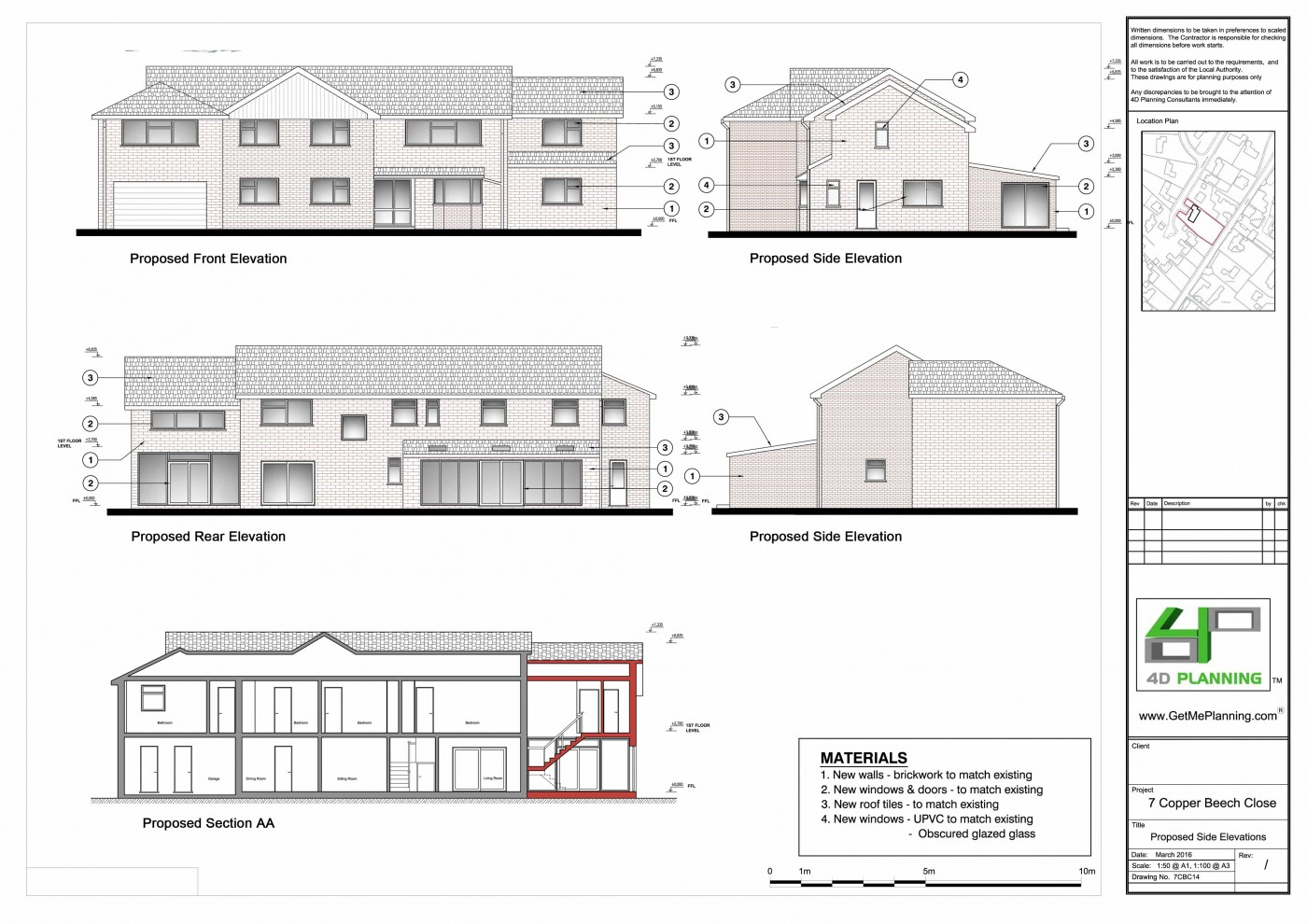 Double Storey Side Extension Single Storey Rear Extension