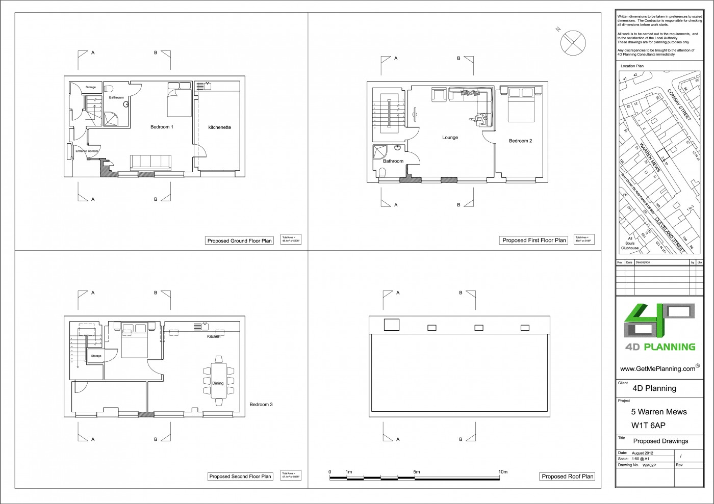 Change Of Use From Offices To 3 Bedroom Residential Dwelling
