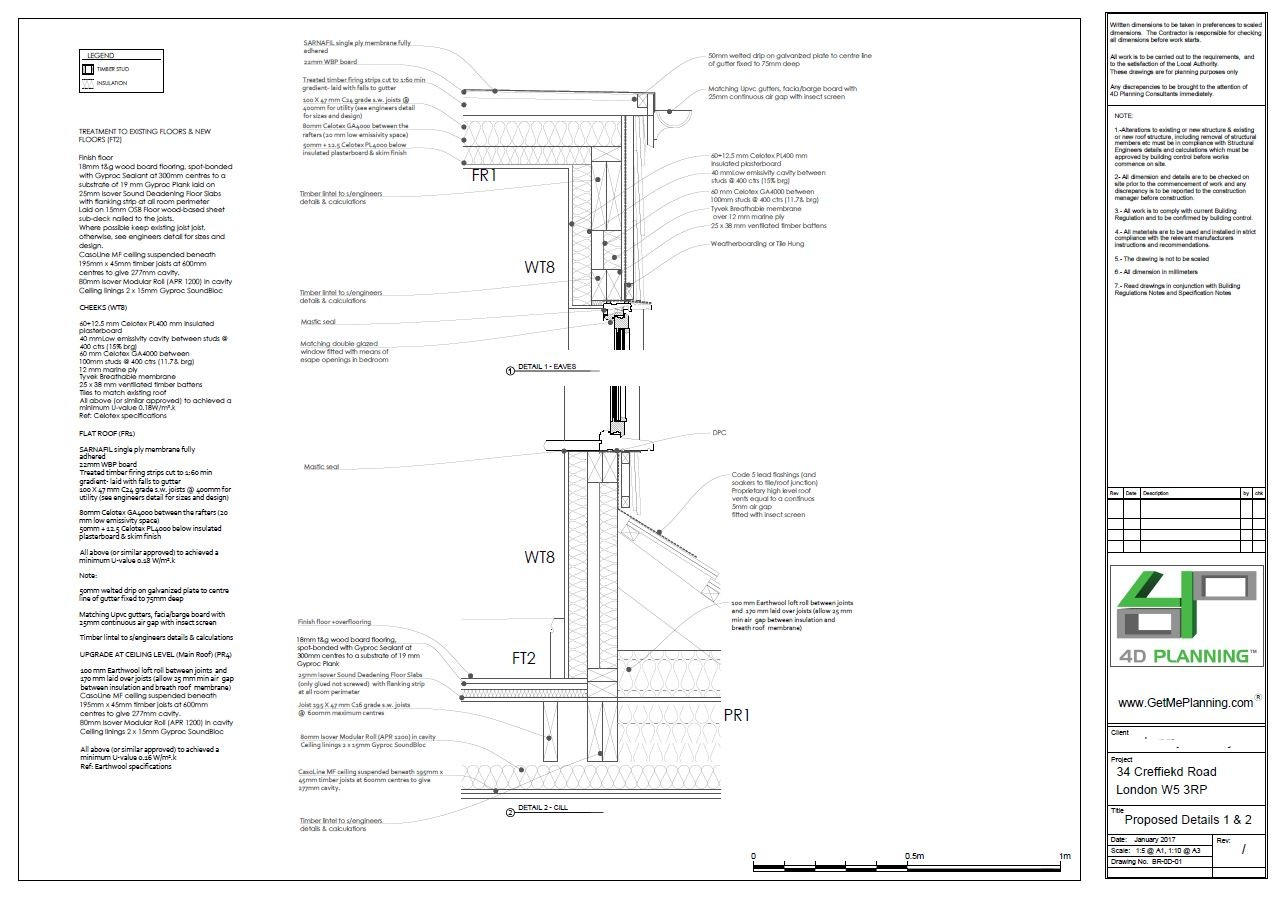 Building Regulations For Rear Extension, Roof Extension And Conversion To  Flats