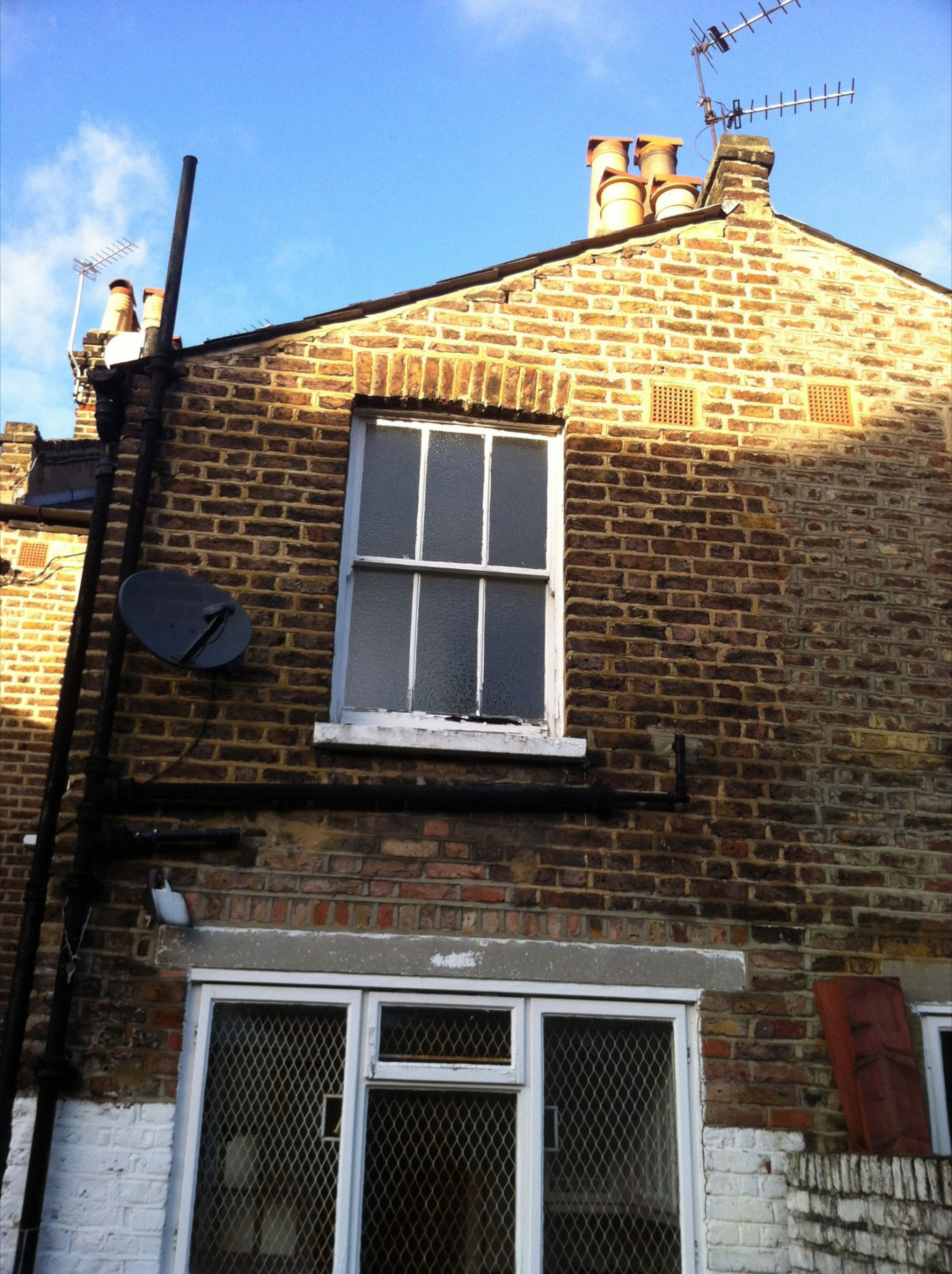 Single Storey Rear Extension Rooflights In Westminster