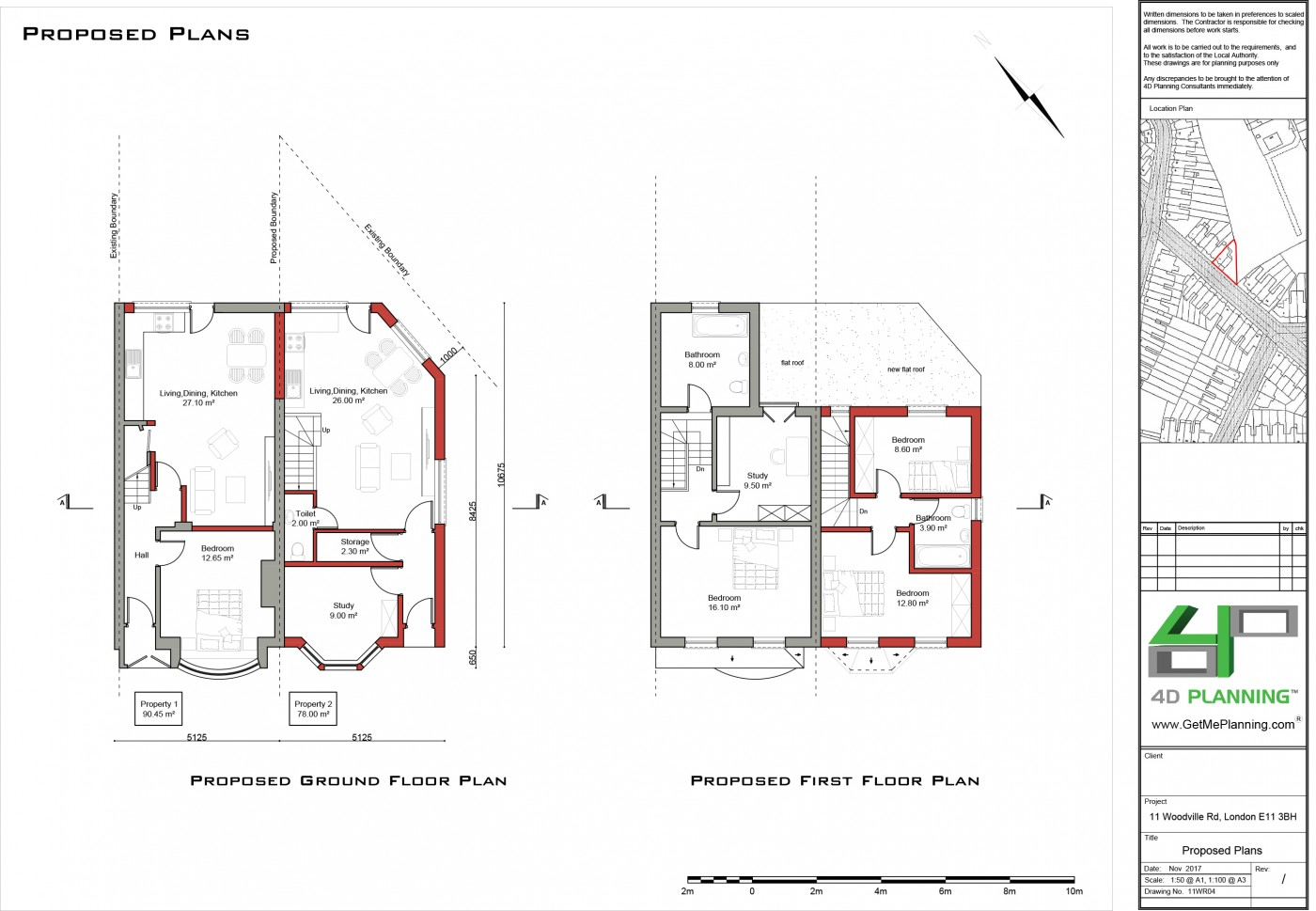 Construction Of New 2 Bedroom House Roof Extension