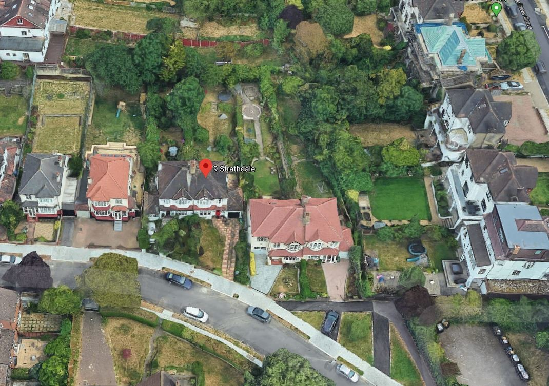 Aerial View - Bird's Eye View
