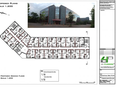 Proposed Second Floor - Drawings