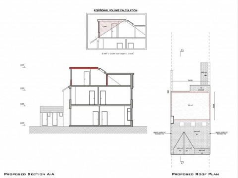 drawings - Barnet - lawful development certificate for loft conversion - 2