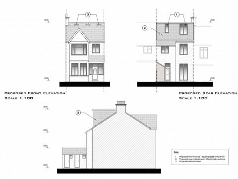 drawings - Barnet - lawful development certificate for loft conversion - 3