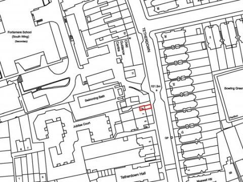 os map - location plan