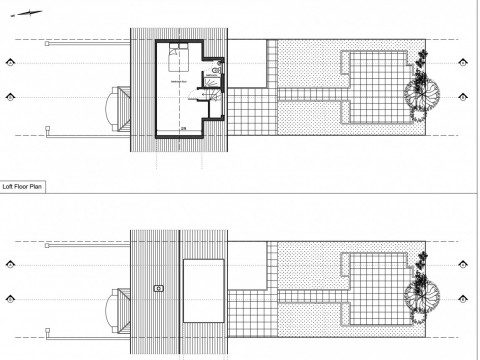 drawings - single storey rear extension and rear dormer - permitted development 1