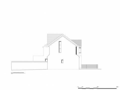 Side Elevation - Architectural Drawings