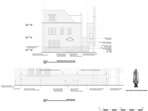 Architect Drawings - Elevations