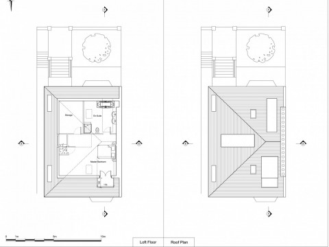Proposed Roof Plan and Loft Plan
