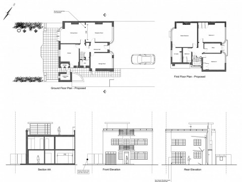 Proposed Architecture Drawings