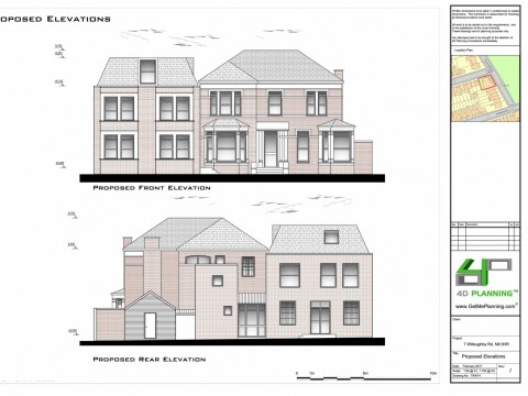 Proposed Elevations - Architect Drawings