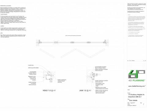 Building Regulations detail drawings