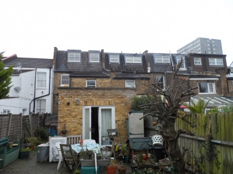 Retrospective permission for roof terrace