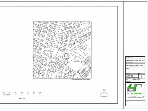 Ordnance Survey Map - location plan