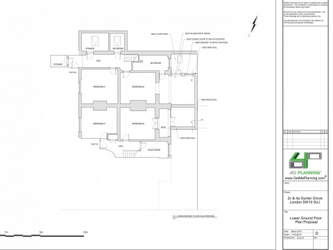 Proposed Lower Ground Floor Plan