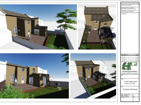 3D Visuals of the property