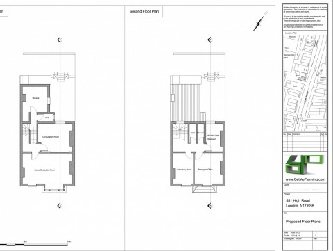 Proposed Floor Plans - Architect Drawings