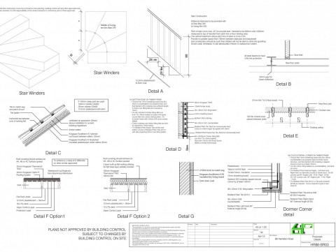 Architectural Drawings - Proposed Details