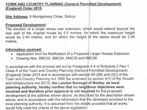Bexley Council Decision Notice