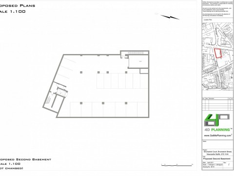 Proposed Basement Drawing