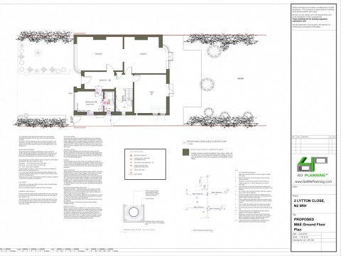 Proposed Floor Plans - Architectural Drawings