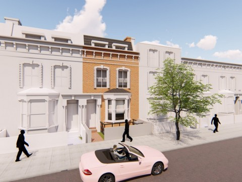 3D external render of the development