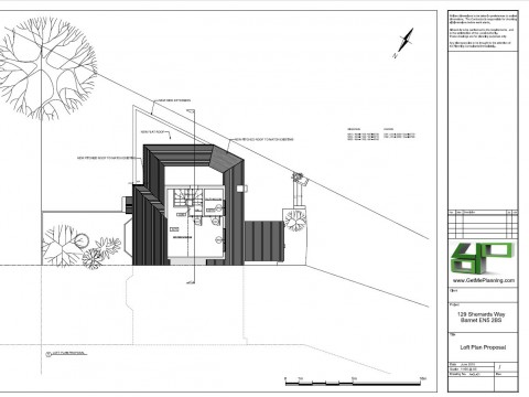 Proposed Architectural Drawings - Loft