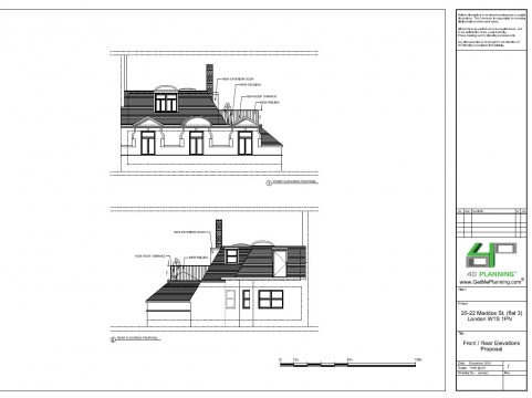 Proposed Front / Rear Elevations