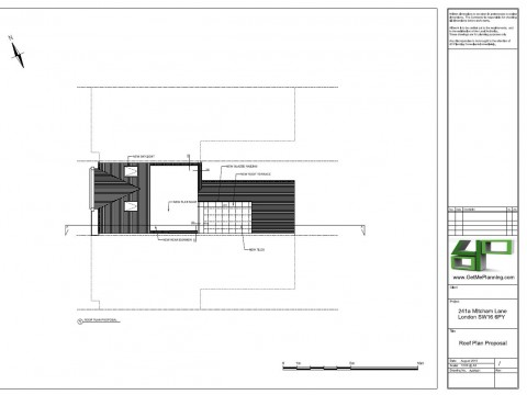 Proposed Architectural Drawings - Roof