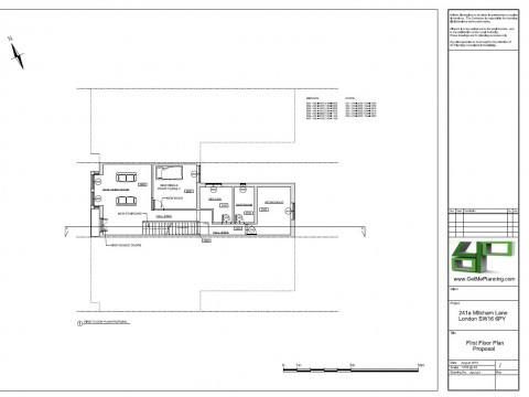 Proposed Architectural Drawings - First Floor