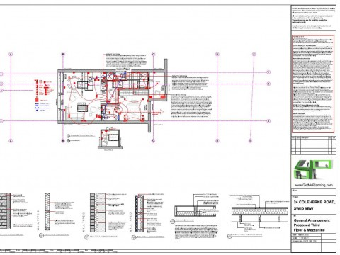 Proposed Architectural Drawings - Third Floor