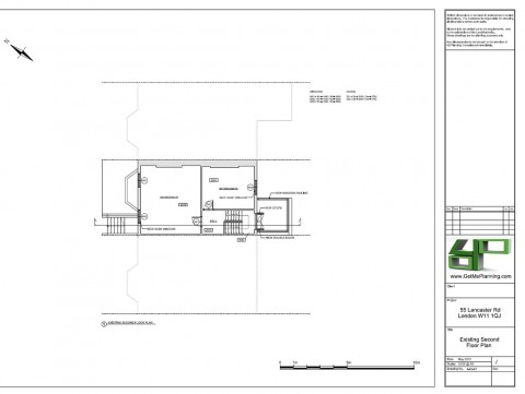 Proposed Architectural Drawings - Second floor