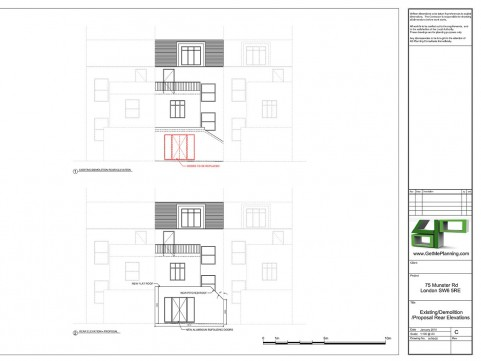 Front / Rear Elevations