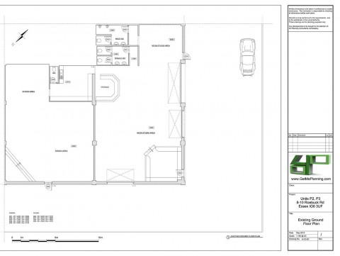 Existing Drawings - Ground Floor Plan
