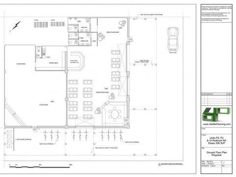 Proposed Drawings - Ground Floor Plan