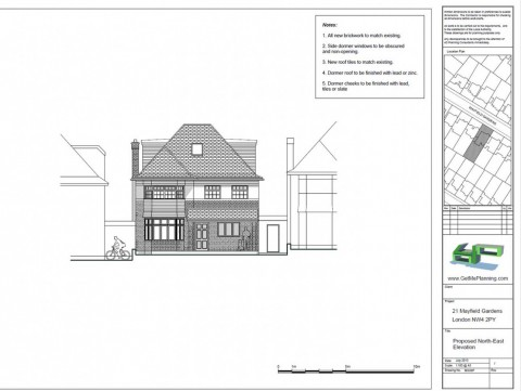 Proposed Drawings - Front Elevation