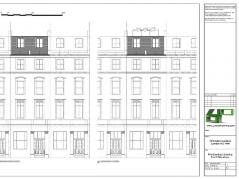 Architectural Drawings - Front Elevations