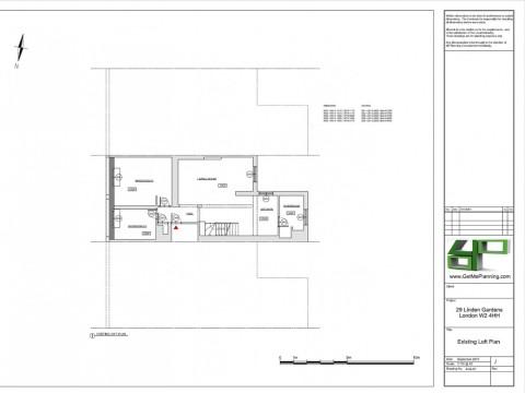 Existing Drawings - Loft Floor Plan