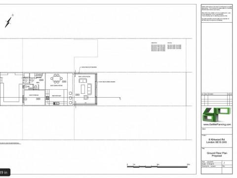 Proposed Drawings - Ground Floor