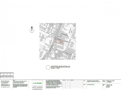 Proposed Architectural Drawings - Location