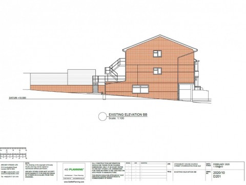 Proposed Architectural Drawings - Elevations