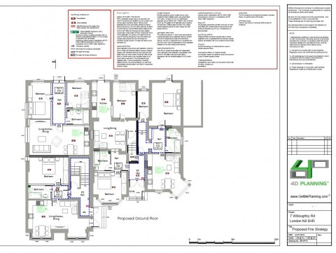 Fire Safety Plan - Building Regulations