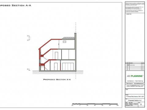Proposed Architectural Drawings - Sections