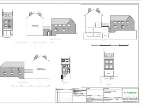 Existing Architectural Drawings - Elevations