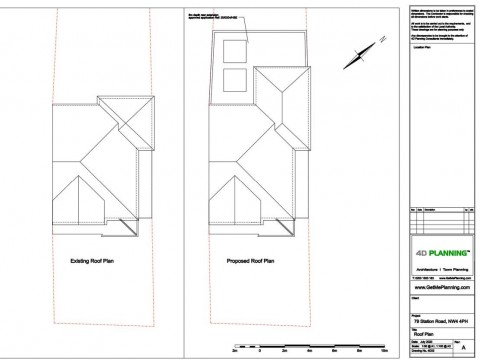 Architectural Drawings - Roof