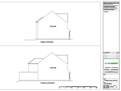 Architectural Drawings - Elevations