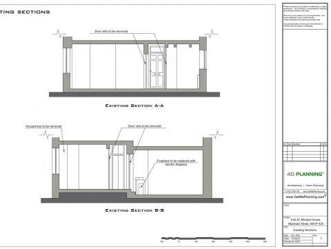 Architectural Drawings - Sections